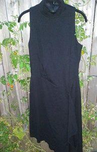 White House Black Market Ponte Asymmetrical Dress